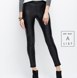Faux Leather Leggings Black Like new